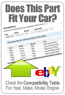 Enter Your Vehicle Information Above