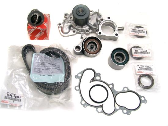 v6 3 4 timing belt kit water pump genuine oe manufacture parts rh ebay com toyota timing belt kit price toyota 3.4 timing belt kit