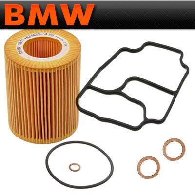 BMW E39 E46 M54 Housing Stand Ajusa CRP Gaskets /& Oil Filter Kit Mann