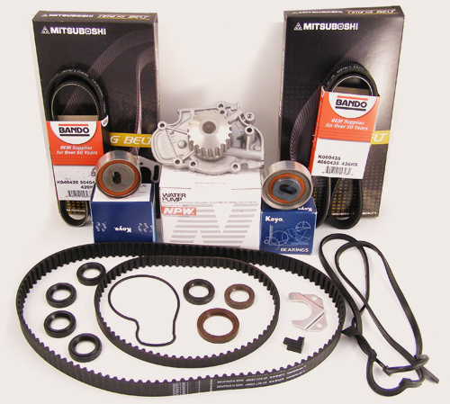 Honda Accord Timing Belt Water Pump Kit 4 Cyl 23l Ebay