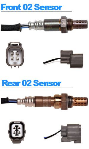 acuhond_o2_4621_4727_300 2001 2002 2003 acura cl front rear oxygen o2 sensor set with  at suagrazia.org